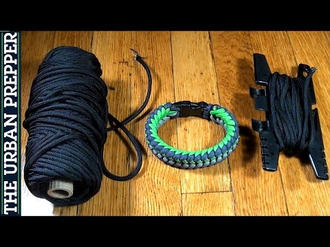 Cutting Paracord Without A Knife [SURVIVAL HACK]