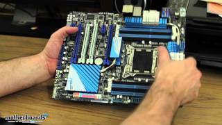 ASUS P9X79 Deluxe LGA 2011 Motherboard Unboxing & Hands-On