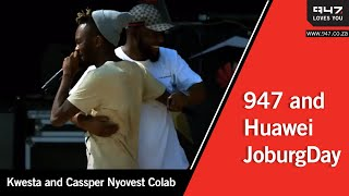 Kwesta And Cassper Nyovest Colab At Huaweijoburgday