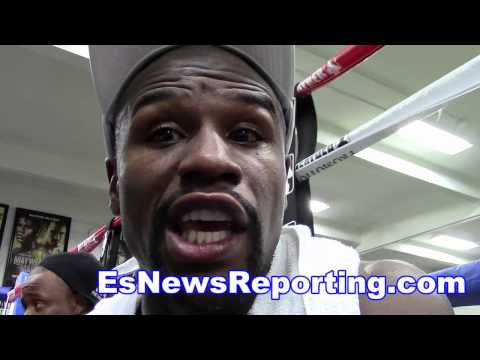 Floyd Mayweather Reflects On Pacquiao Fight and talks sept fight EsNews