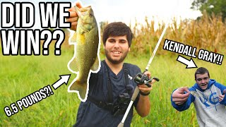 Kendall Gray CHALLENGED ME to a FISH OFF!