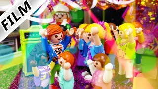 Playmobil Film deutsch | KINDER DISCO IN LUXUSVILLA - Opa der Partylöwe | Kinderfilm Familie Vogel