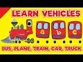 Transportation Song Bus Plane Train Car Truck Songs For Children Fun Kids English mp3
