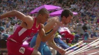 Decathlon - Eaton Sets 100m Olympic Best - Full Event - London 2012 Olympics