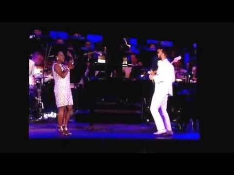 What's Going On duet (Marvin Gaye tribute) by John Legend and Sharon Jones with the LA Philharmonic