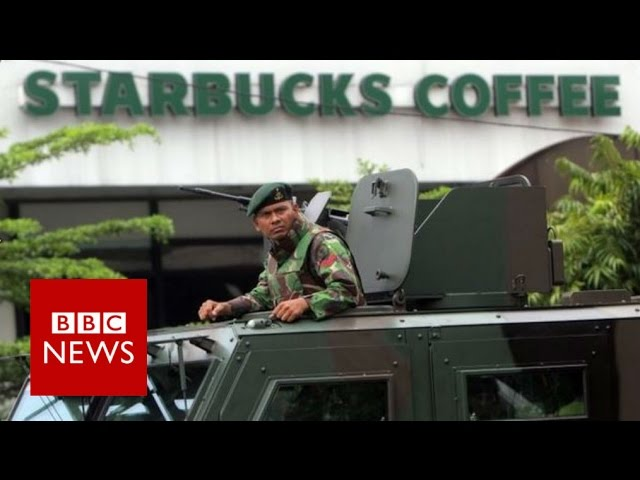 Jakarta attack: How assault on city unfolded - BBC News