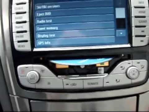 ford mondeo uk dvd navigation how to get the dvd out. Black Bedroom Furniture Sets. Home Design Ideas