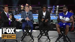 Post-fight analysis and interviews with Terrell Gausha and Austin Trout | PBC on FOX