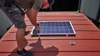 Installing a Complete Solar Power System!