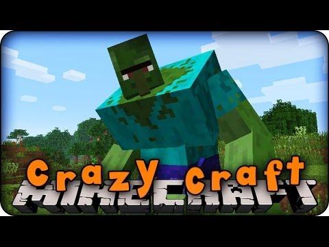 Minecraft Mods - CRAZY CRAFT - Ep # 11 ' ULTIMATE SWORD RECIPES!' (Orespawn Mod)