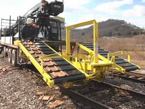 H Amp H Railroad Contracting Inc S Tie Plate Distribution