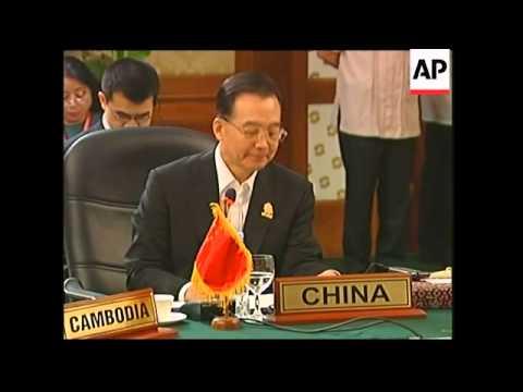ASEAN leaders summits with China, India, ADDS SKorea