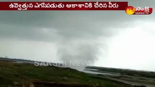 Tornado near Pune's Nazare Dam -- పుణెలో టోర్నడోను తలపించిన సుడిగాలి - netivaarthalu.com