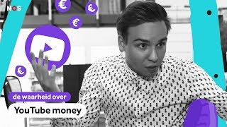 Dit verdienen YouTubers met VIEWS |  De waarheid over YOUTUBE MONEY 1/4