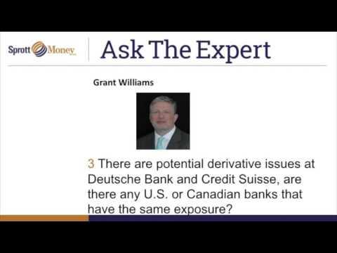 Sprott Money News - Ask The Expert February 2016
