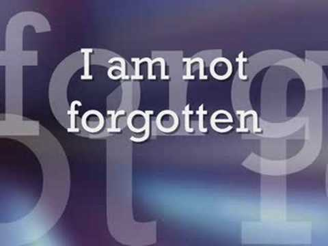 Israel - I Am Not Forgotten lyrics