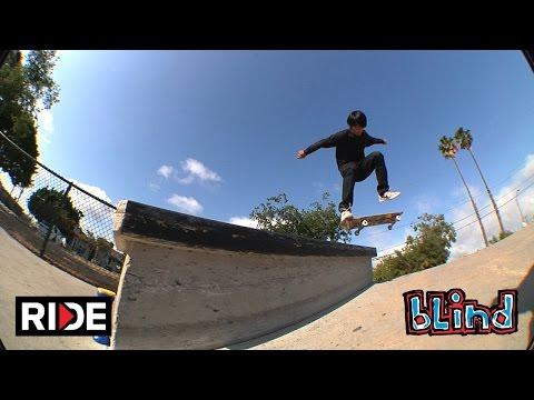 Yuto Horigome at McBride Park LBC -  Blind #DamnEdits