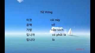 Tiếng Hàn Quốc Giao Tiếp - Chủ Đề : Đồ Vật