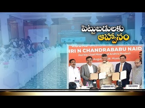 CM Chandrababu Naidu Meets Industrial Giants | Attracts Investments in AP