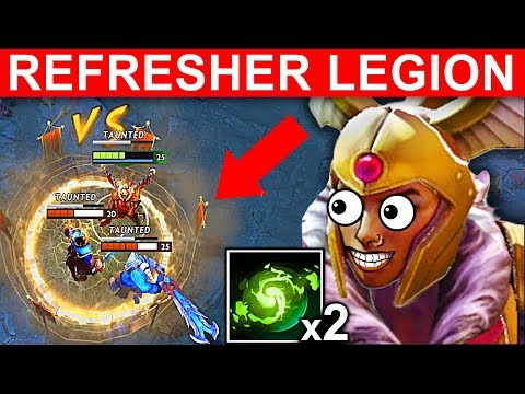 REFRESHER LEGION COMMANDER DOUBLE DUEL NEW PATCH 7.14 DOTA 2 NEW META GAMEPLAY #94