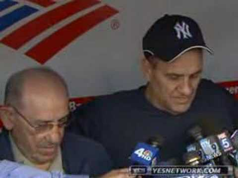 Yogi Berra on the loss of Phil Rizzuto Video