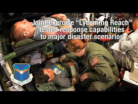 910th Wing Medical Exercise