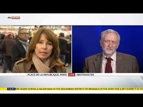 Kay Burley Speaks To Jeremy Corbyn About Paris Attacks