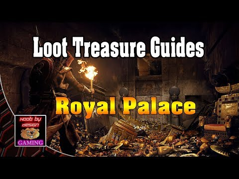 Assassins Creed Origins - Royal Palace - Loot Treasure Locations #1
