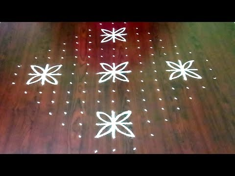Chukkala Muggulu For Festivals || Latest  Dhanurmasam Rangoli Design || Rangoli & Fashion World