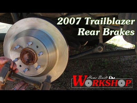 How to replace rear brakes on a 2007 Chevy Trailblazer