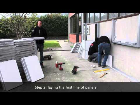 installation piz cladding system english