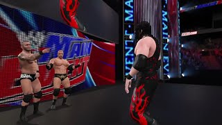 "WWE 2K15- Kane vs Bray Wyatt Normal Match "" WWE Univers""  2015 (PS4)"