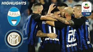 SPAL 1-2 Inter Milan | Two Mauro Icardi goals lead Inter Milan to victory in a tense match | Serie A