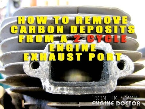 How To Remove Carbon From A 2 Cycle Engine Exhaust Port