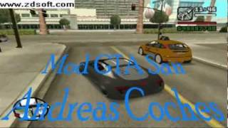 Mod GTA San Andreas Coches Reales Final (MUCHO ACCION )