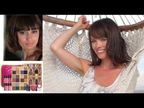 JAMES BOND GIRL LOOK TUTORIAL: Tarte Holiday 2012 Set Carried Away: Smoky Eyes & Nude Lips. Skyfall.