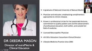 Special Product Training by Dr Deedra Mason