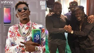 Shatta Wale celebrate Bola Ray for supporting his Carrier + Shatta sign a partnership deal with...