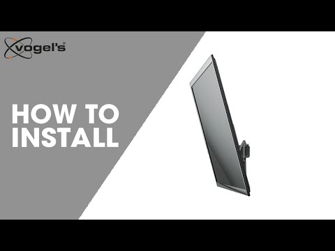 Installation video THIN 215 tilt wall mount