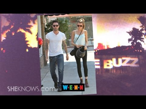 Adam Levine is Engaged - The Buzz
