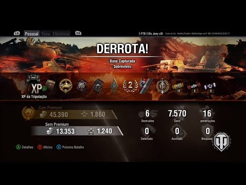 World of Tanks XBOX WT DAMAGE