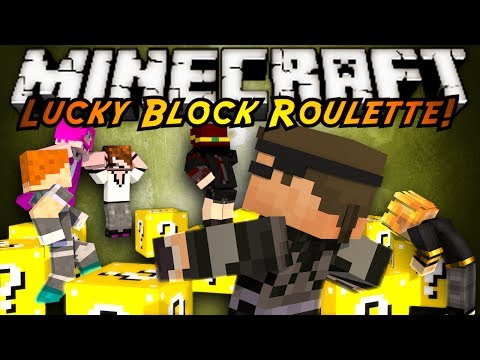 Minecraft Modded Mini-Game : LUCKY BLOCK ROULETTE 2!
