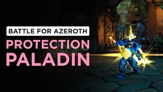 Mastery/Block OVERHAULED! Protection Paladin | WoW: Battle for Azeroth - Beta [2nd Pass]