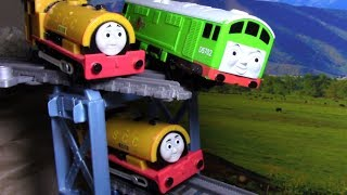 Thomas and Friends Accidents will Happen | Toy Trains Crashing into each other