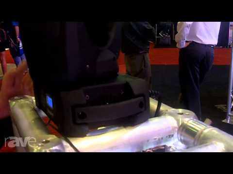 InfoComm 2013: Aeson Lighting Shows its Moving Head Fixture