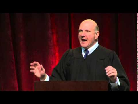 Steve Ballmer USC Marshall Graduate Commencement Speech 2014
