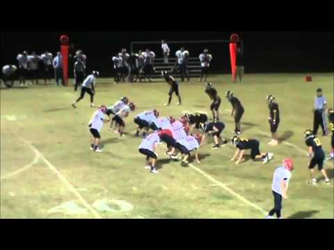 Brandon Rankhorn Football Highlights Senior 2012 Rossville Christian Academy