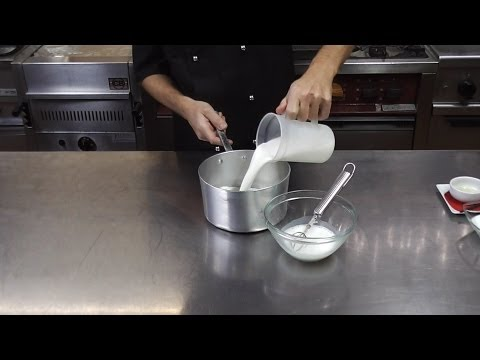 Crema al latte video ricetta fullHD