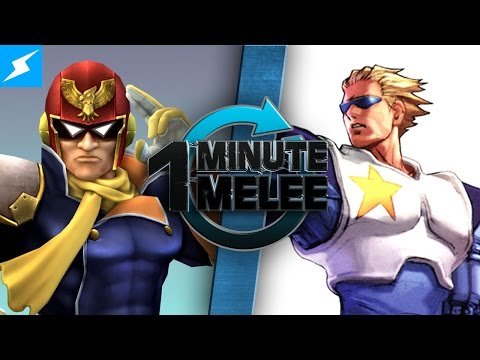 One Minute Melee - Captain Falcon vs Captain Commando