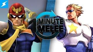 One Minute Melee - Captain Falcon vs Captain Commando